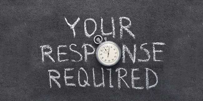 Did you know that NOT getting a response to a survey question can be a good thing?